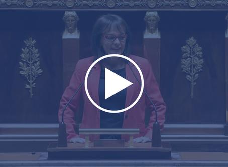 Intervention sur les crédits du budget culture et présentation de mon rapport sur la cité du théâtre