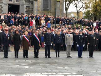 Commémoration du 11 novembre, mon hommage aux Morts pour la France