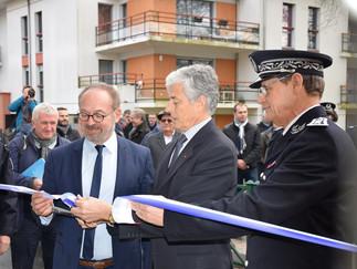 Inauguration du nouveau commissariat de Saint-Sébastien