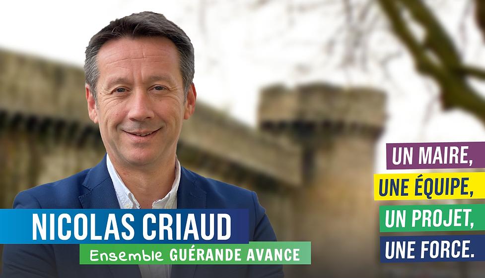 Nicolas Criaud Guérande Avance