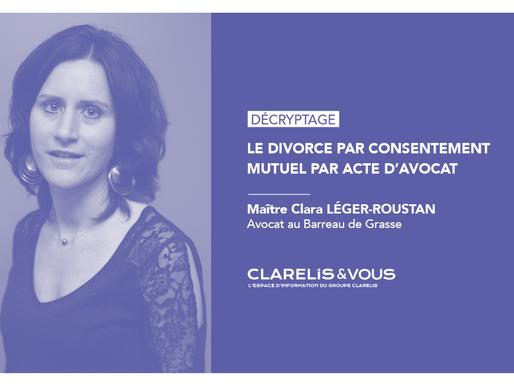 Le divorce par consentement mutuel par acte d'avocat
