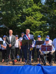 Discours du 14 juillet au Fort Saint-Père