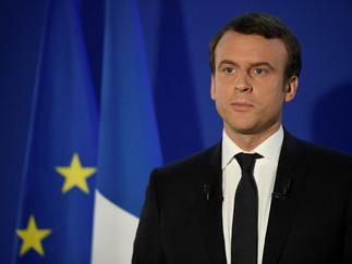 Réactionà la suite de l'élection d'Emmanuel Macron à la Présidence de la République Françai