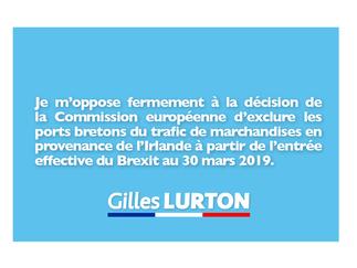 Je m'oppose à la décision de la Commission européenne du 1er août 2018 d'orienter tout le trafic de