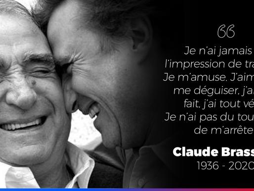 Claude Brasseur : merci !