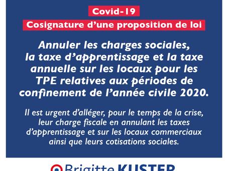 Covid-19 : mesures pour les TPE
