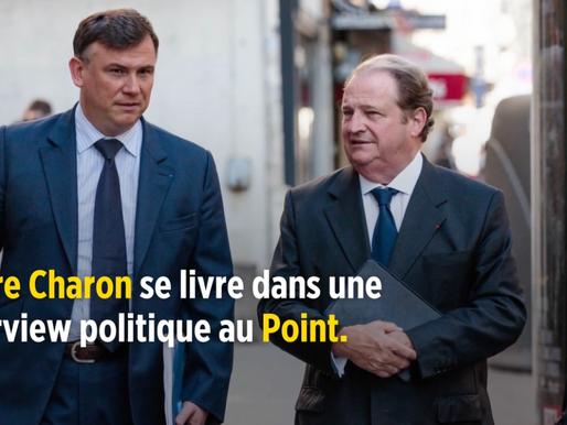 Le Point - Charon : « La droite n'est plus incarnée depuis le départ de Nicolas Sarkozy »