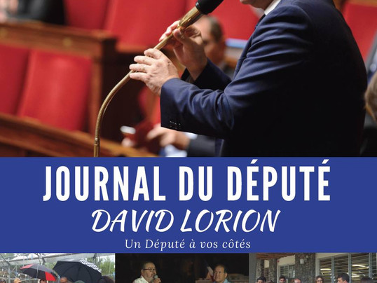 Journal du Député - juillet 2018