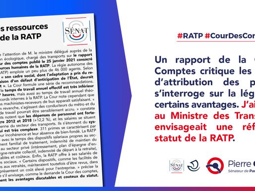Vers une réforme du statut de la RATP ?