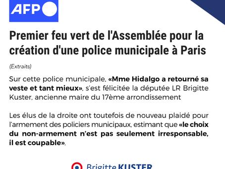 Police municipale à Paris : nous avons voté la possibilité de sa création