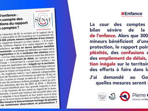 Protection de l'enfance : la France doit rattraper son retard