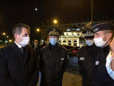 #Paris16 - Avec le Ministre de l'Intérieur