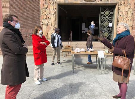 Rencontre avec les bénévoles de la paroisse Sainte-Odile