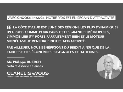 Avec Choose France, notre pays est en regain d'attractivité
