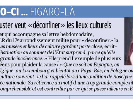 """Le Figaro revient sur mon """"Billet de la Semaine"""""""