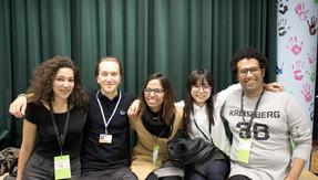 Equipe CliMates lors d'une formation COP in MyCity