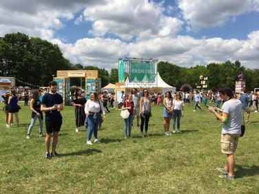 Le Jeu du Pas au We Love Green Festival
