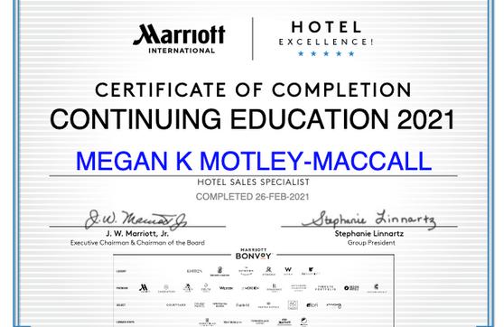 Marriott International Specialist