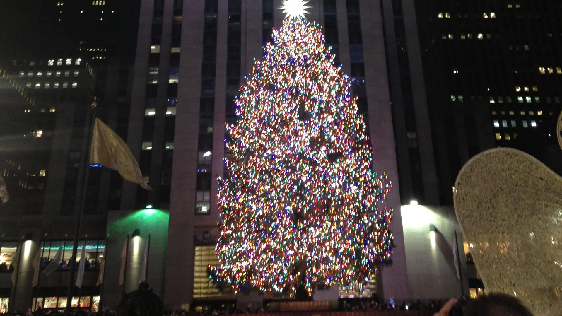 Rockfeller Building at Christmas is not to be missed!