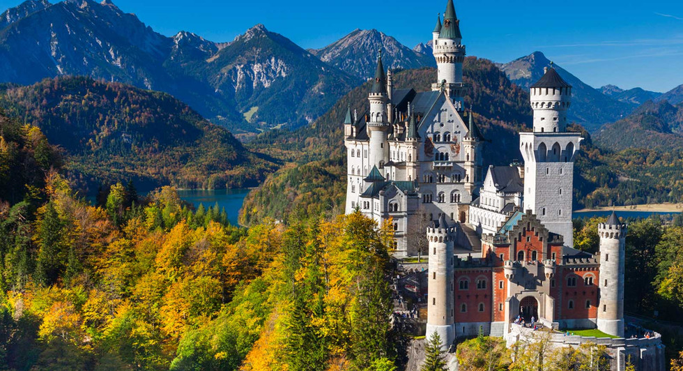 Ever wanted to see the castle that inspired disney's cinderella castle?