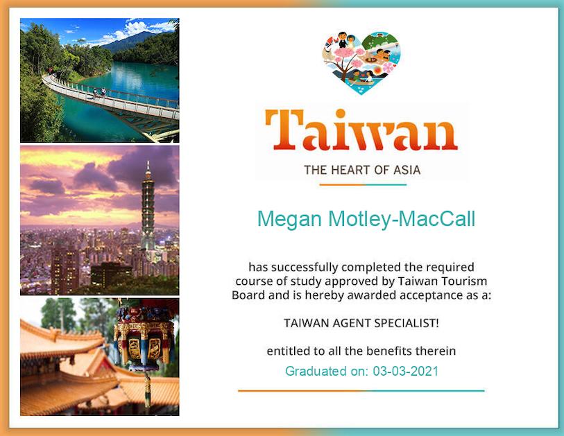 Taiwan Trip Specialist