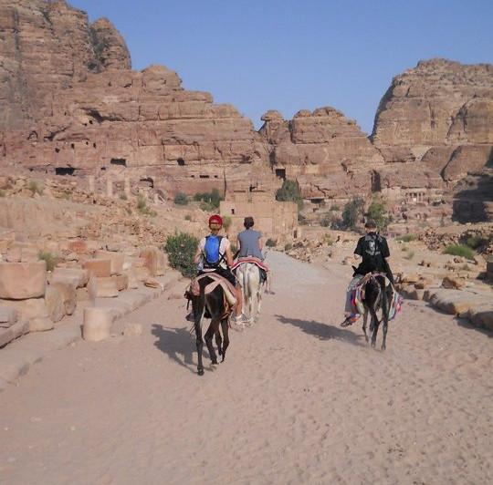 Exploring Petra in Jordan!