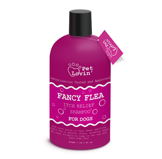 Fancy Flea Itch Relief Shampoo for Dogs
