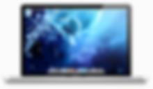 Picture of a MAC laptop's desktop screen