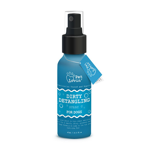 Dirty Detangling Spray for Dogs