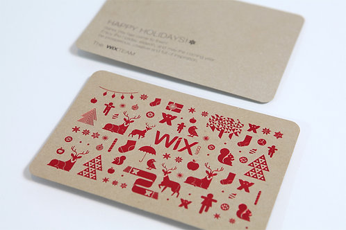 Carte de vœux ou d'anniversaire