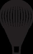 Logo Altitude 22 : hot air balloon