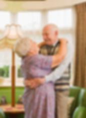 счастливая пожилая пара, дом престарелых Пенза, Кузнецк, добрый дом
