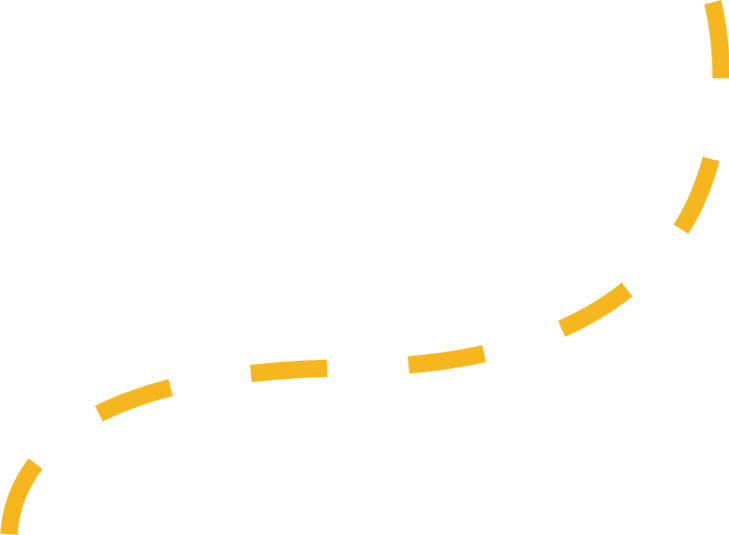 yellow dashed line