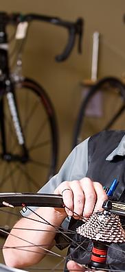 Velocare, Shimano,Winterborne, Pro bike mechanic