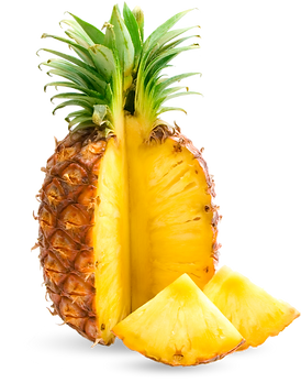 pineapple, 1st quality produce fresh cut