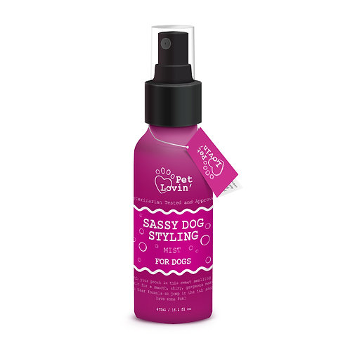 Sassy Dog Styling Mist for Dogs