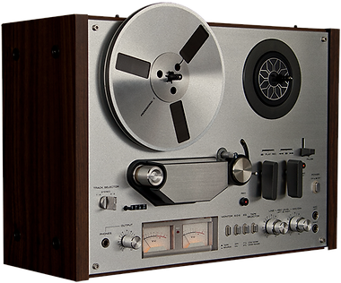 old reel to reel recorder