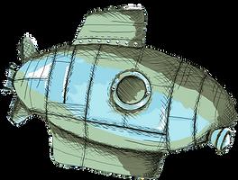 submarino ilustración