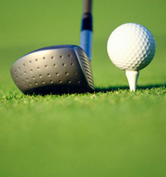 Wallaroo Golf Club - Ball on Tee