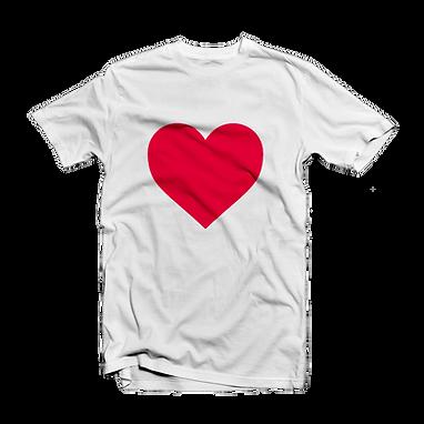 Tshirt with heart print