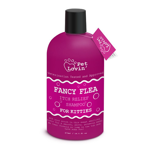 Fancy Flea Itch Relief Shampoo for Kitties