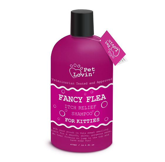 Fancy Flea Itch Relief Shampoo for Kitties