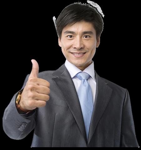 Happy Businessman, Mutlu işadamı, turkish speaking foreigner