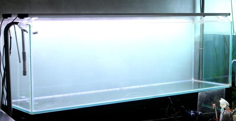120pスリム水槽レイアウト