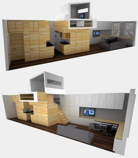 micro-apartment