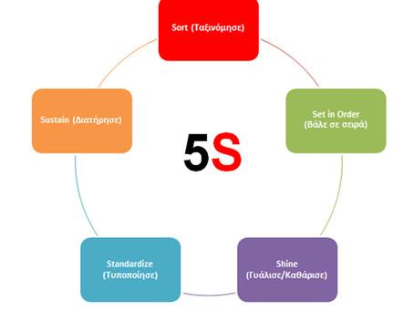 H μεθοδολογία των 5S