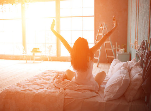 Quick way to banish morning fatigue