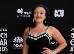 Amy Nelson on the Australian Red Carpet