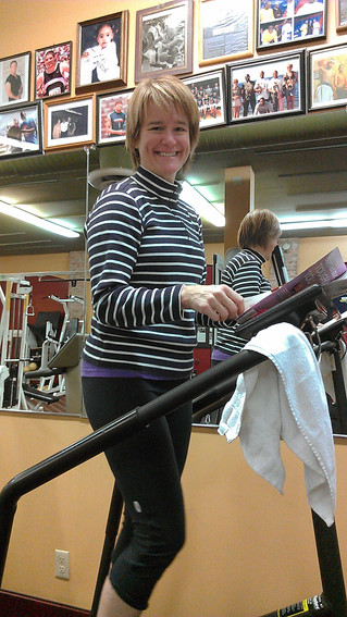 Welcome, Erin Kilpatrick! Columbia City Fitness Center's New Member.