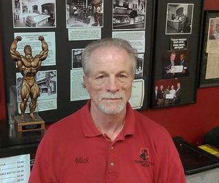 Mick Stevens: Staff Member